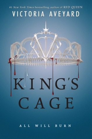 Book Recommendation: King's Cage – Victoria Aveyard (Red Queen #3) + Book Trailer