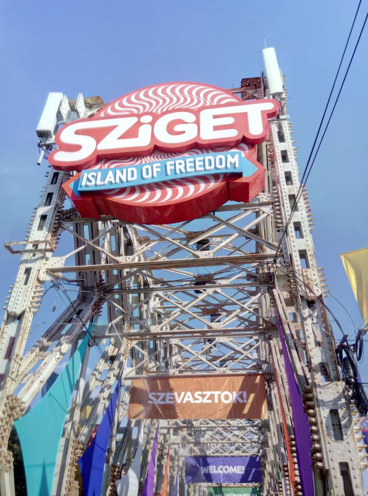 sziget festival / summer 18 travel diary