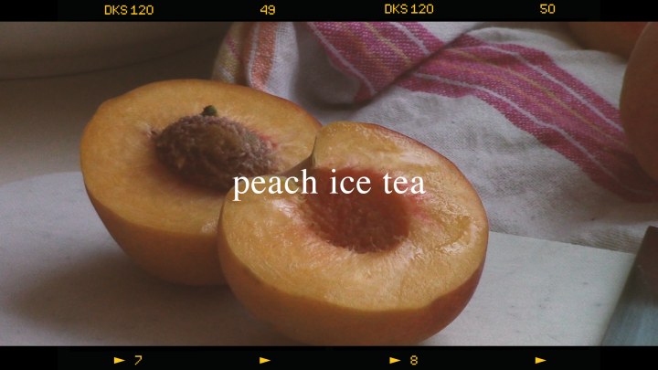 Refreshing Peach Ice Tea 🍑 (simple & easy recipe!)